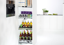 Larder unit pull-out - Convoy Centro, 4 trays